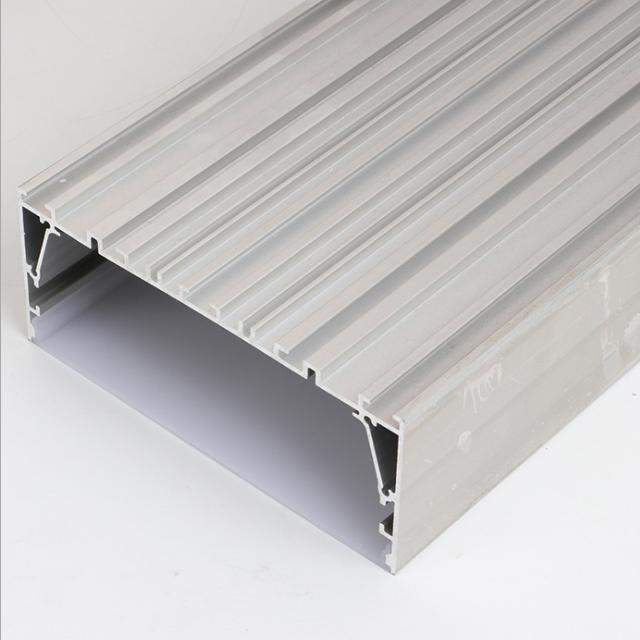 Led channel light box aluminum profile led strip light with anodizing