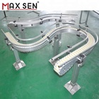 Flexible Flat Top Chain Conveyor System for Food Industry,Material Conveying Equipment from China Manufacturer