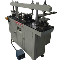 High speed hydraulic two cylinder punching machine for punching aluminum profile