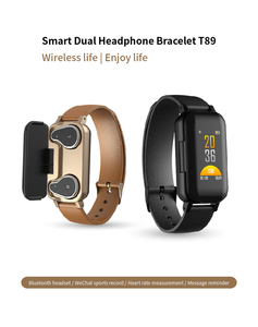 Noise Cancelling Dual Mode Bluetooth 5.0 Wireless Headphones Festival Custom Fitness Tracker Wristband