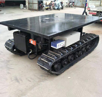 Steel rubber track chassis from 0.5Ton to 120T steel undercarriage for excavator truck loader Drilling Rigs bocat wet lands