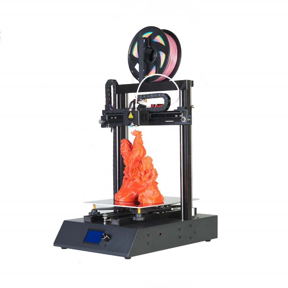 ORTUR newest Ortur4 <strong>V1</strong> 3D China 3d printer,dual axis linear rail guide 3D Drucker removable carbon steel plate 3d print machine