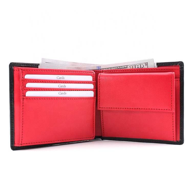 High quality Mens Wallets Rfid Genuine Leather Wallets Designers Credit Cards Man Wallets With Coin Pocket