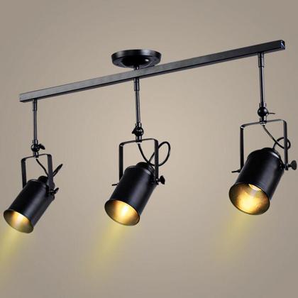 Modern LED Energy Saving Iron Black Chandelier Ceiling Light Contemporary for Bar