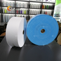 Factory 100% Polypropylene Adhesive Hot Rolled Nonwoven Interlining Fabric