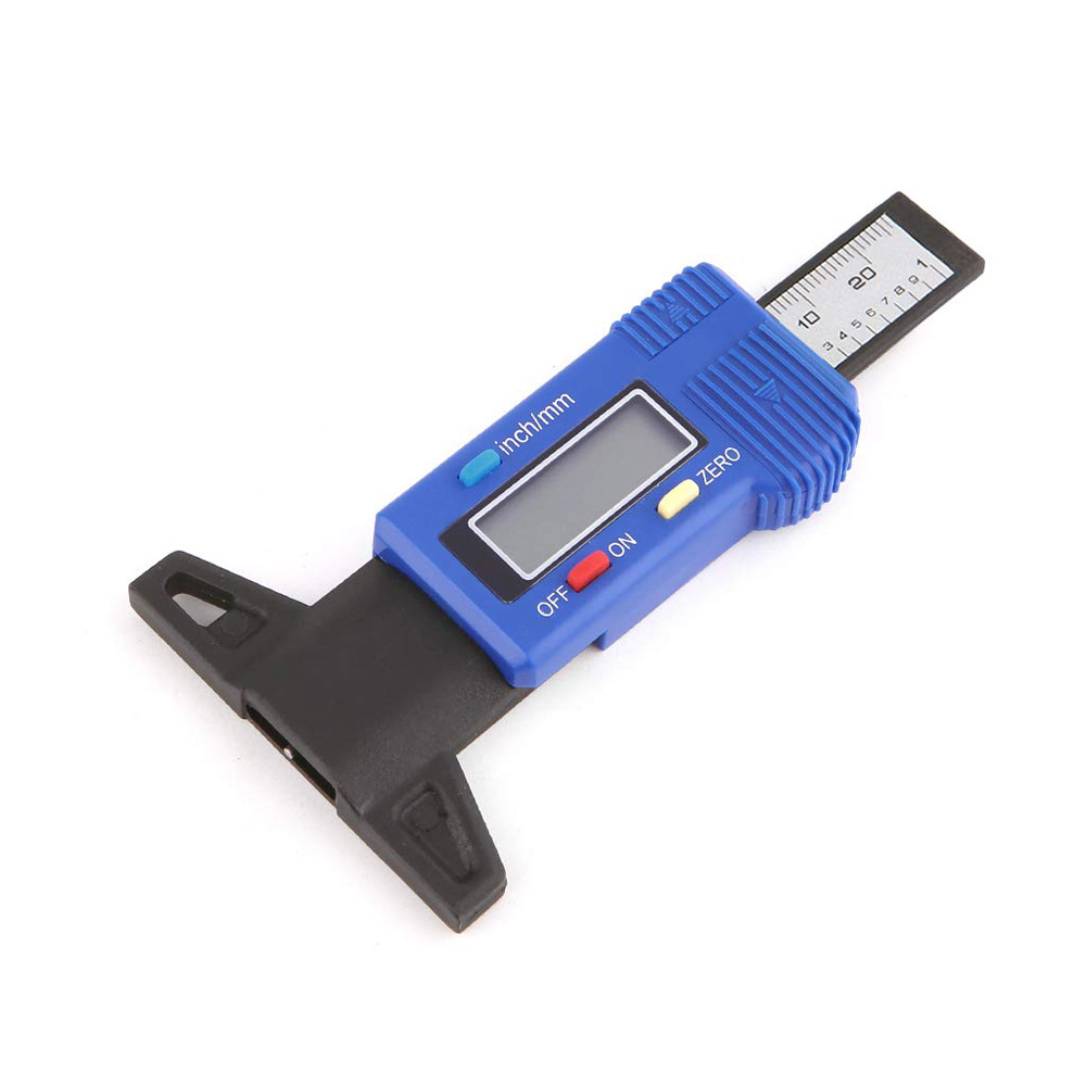 0-25mm Elektronische Digitale Schuifmaat Diepte Heerser 0.1mm Gauge voor Auto Band LCD Display Meet Tool diepte Tester Gauge