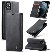 CaseMe Blank Abdeckung für <span class=keywords><strong>iPhone</strong></span> 11 Fall Schwarz <span class=keywords><strong>Luxus</strong></span> Farbe <span class=keywords><strong>5</strong></span> Business Stil für <span class=keywords><strong>iPhone</strong></span> X Xr Xs Max Se 2 7 8 plus Flip Stand Fall