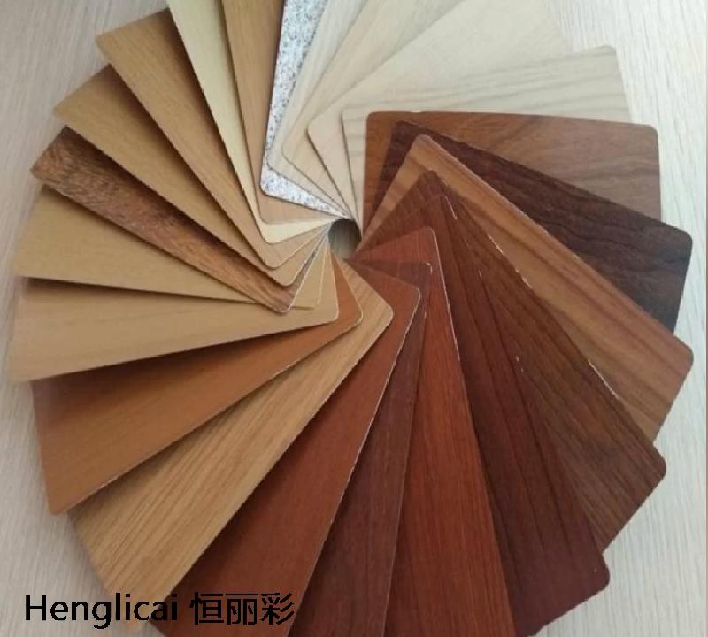 wood board panel grain acp 3mm sheet  wall cladding panel