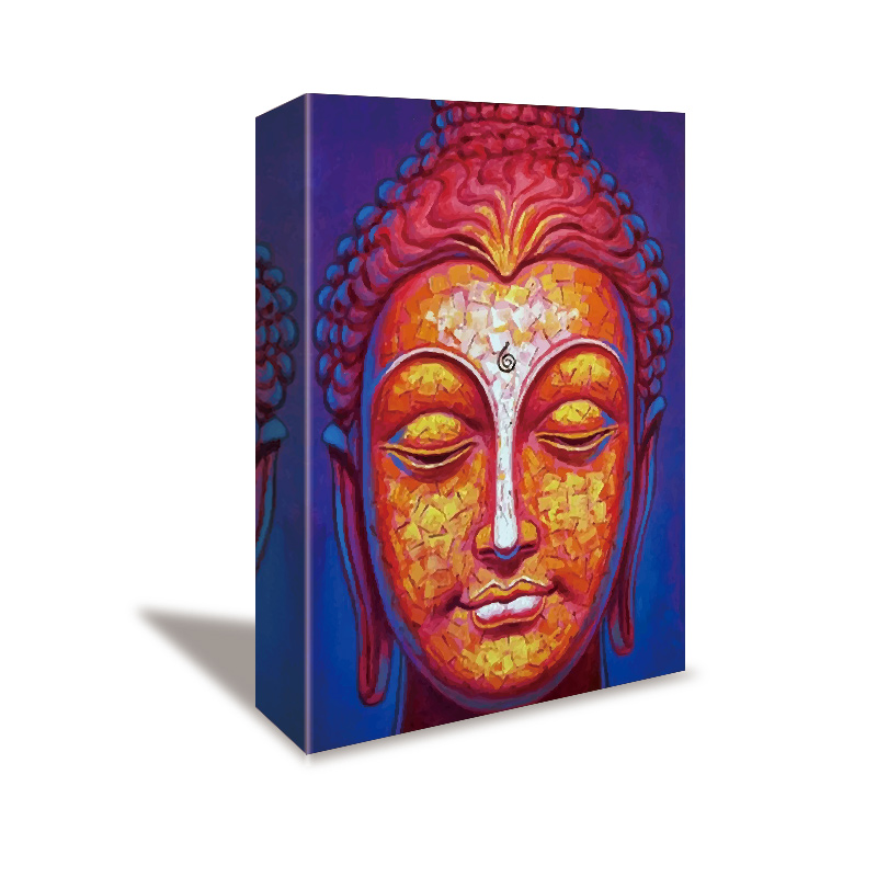 벽 art painting canvas 인화 art picture canvas 부처님 painting art work abstract canvas painting