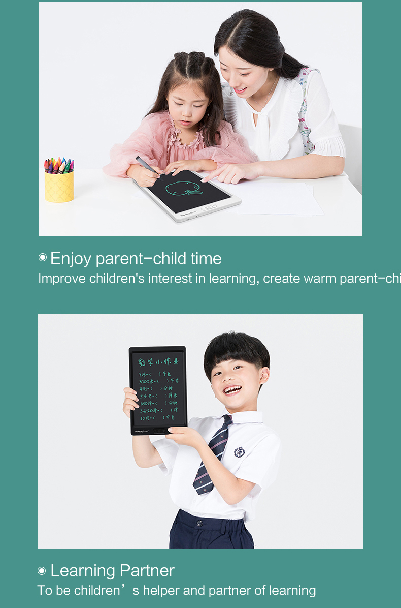 Point Spot Erase Erasable Erasure Kids Office LCD Writing drawing Tablet Board Pad Slate eWriter