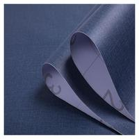 Wholesale Solid Color Self Adhesive PVC Wall Paper Wallpaper For Home Wall Decorative