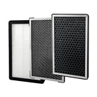 High quality Air Filter HEPA & Active Carbon Filter for Air Purifier
