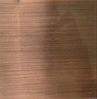 Hairline Finish stainless steel plate Decorative 201 304 316 grade