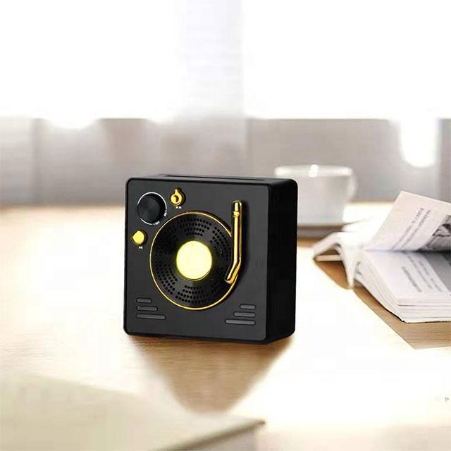 2020 הכי חדש מיני Hifi בית תיאטרון רטרו רב תפקודי Bluetooth רמקול חיצוני אלחוטי Boombox
