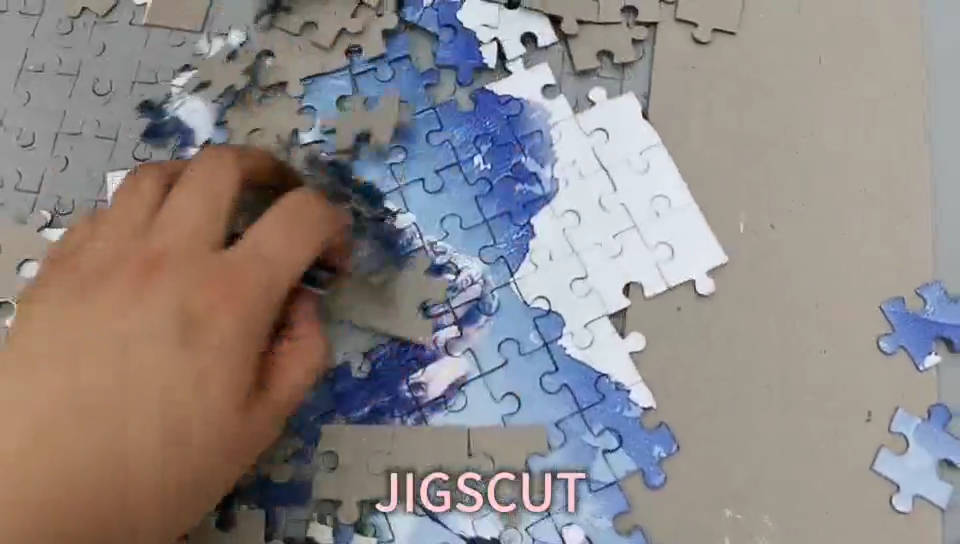 Steel rule jigsaw puzzle cutting die 450*500mm-500pcs special SDESIGN 2020 newest design