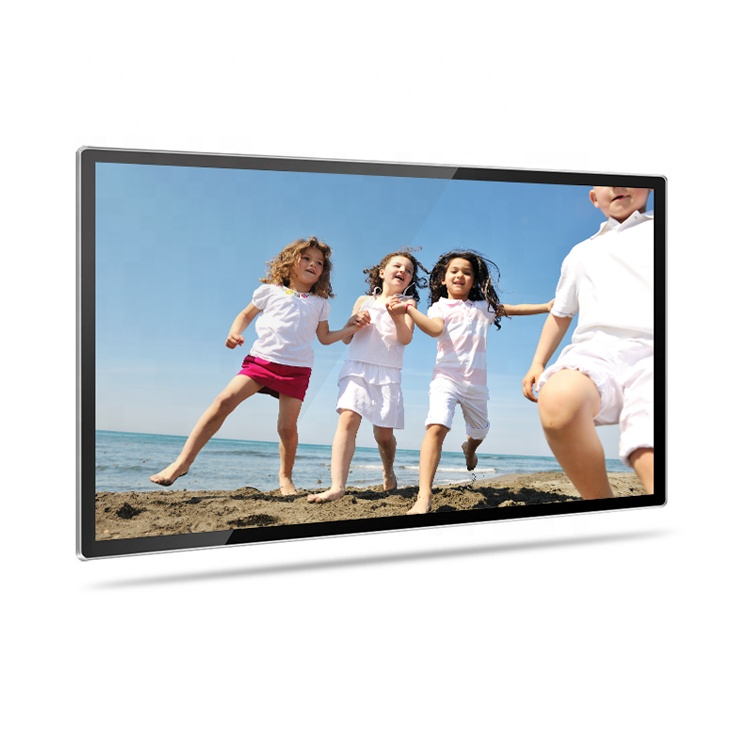 Full Hd 1080p Black White Wall Mount Large Size 32 40 42 50 inch Lcd Digital Photo Frame