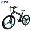 Black mountainbike