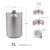 no metal taste homebrew stainless steel single wall beer 5 liter mini keg with tap system