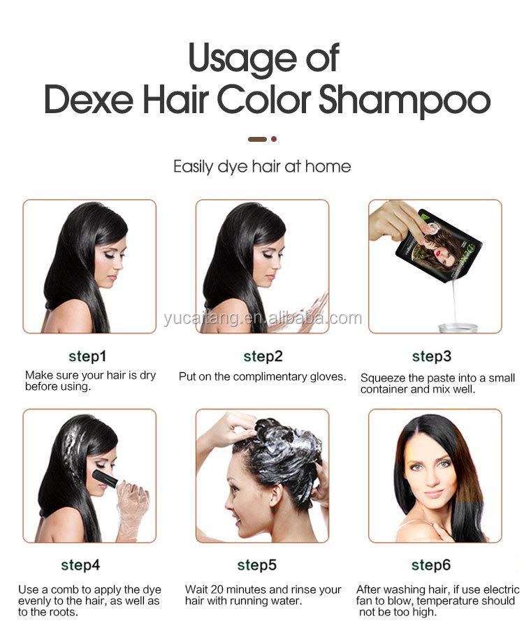 ROYAL Hair Coloring Natural Brown Shampoo With No Ammonia Best Hair Colour Magic Henna Hair Dye