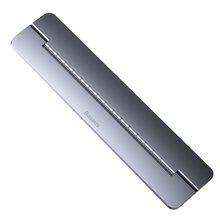 Портативная подставка для ноутбука Baseus, складная алюминиевая настольная подставка для ноутбука, подставка для ноутбука MacBook Air Pro Mac PC(Китай)