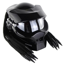 Carbon Fiber Full Face Motorrad <span class=keywords><strong>Helm</strong></span> Monster <span class=keywords><strong>DOT</strong></span> helme