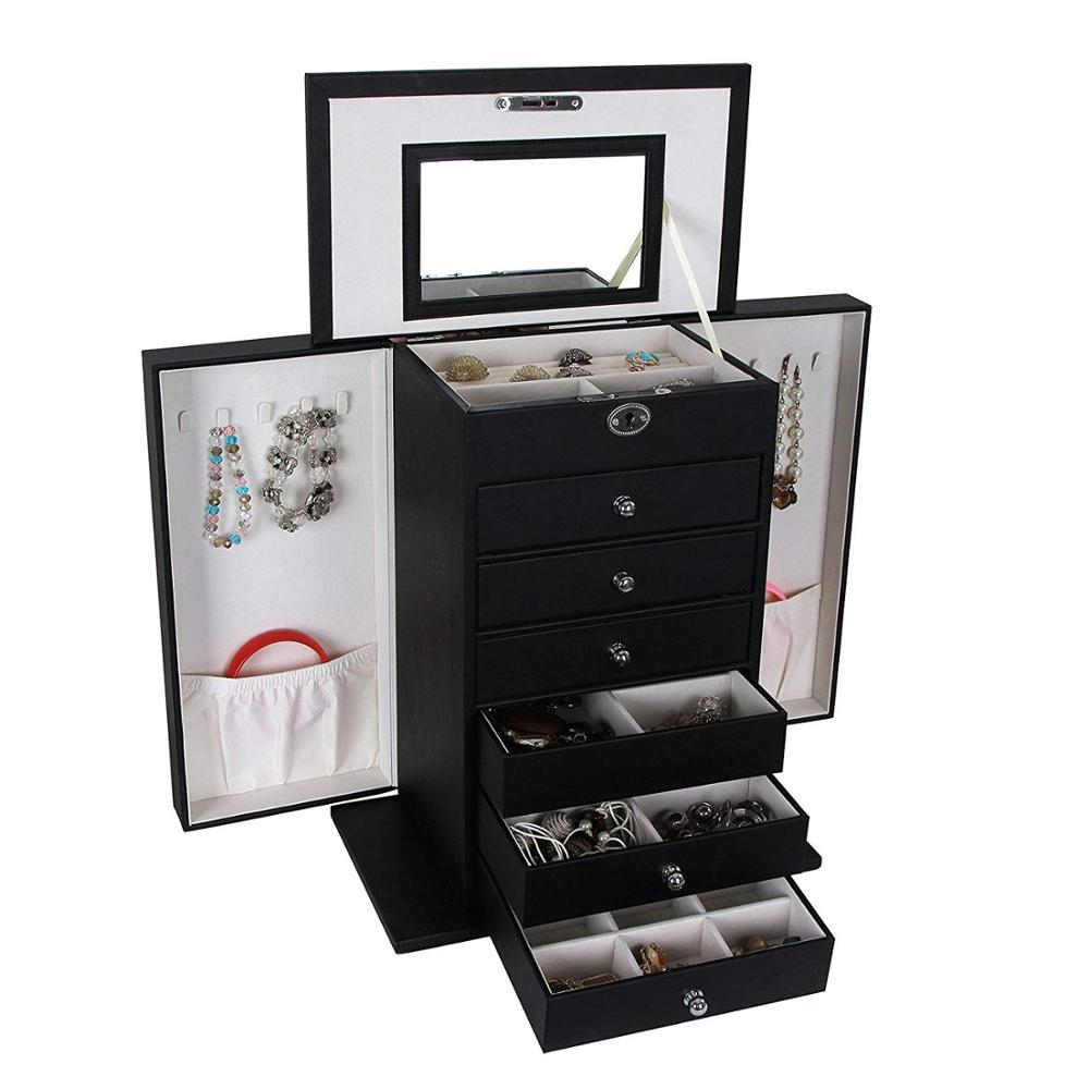 High Quality Luxury Large Container Multi Drawer Display Jewelry Storage Cabinet