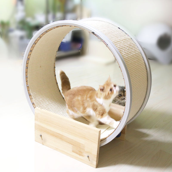 Original ferris wheel scratching post cat scratch creative cat scratcher climbing roller wheel of pet lose weight toy