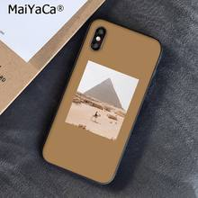 MaiYaCa эстетический пейзаж путешествия Sceneary девушка цветок искусство телефон аксессуары чехол для iPhone 11 Pro XS MAX XR 8 7 6 Plus 5S SE(Китай)