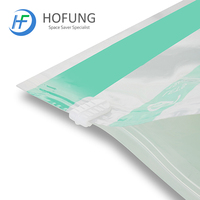 New design high quality reasonable price travel hand roll vacuum storage bags for clothes