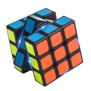 Professional 3x3 Third Order Gan Magic Speed Cube With Black White Primary Color