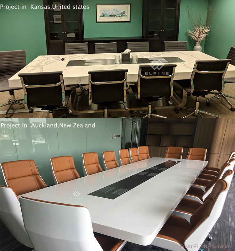 Hot sale office furniture executive meeting table conference table and chair