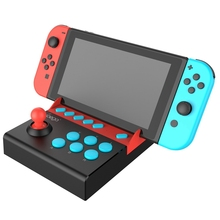 Ipega Pg-9136 <span class=keywords><strong>USB</strong></span> Arcade <span class=keywords><strong>Joystick</strong></span> Gamepad untuk Nintendo Switch Single Rocker Game <span class=keywords><strong>Joystick</strong></span> Game Controller dengan 8 Turbo Aksi