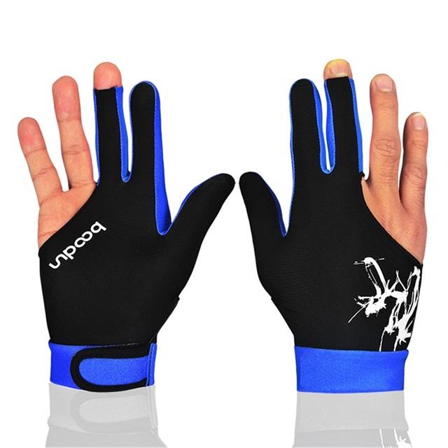 Индивидуальные дышащие низкие цены 3 пальца бильярдные перчатки для снукера перчатки для бассейна