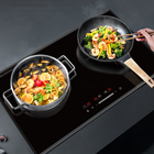 high quality induction cooker / cooktop / hob / stove with auto switch off ceramic KC CE CB Double burner fashionable slim