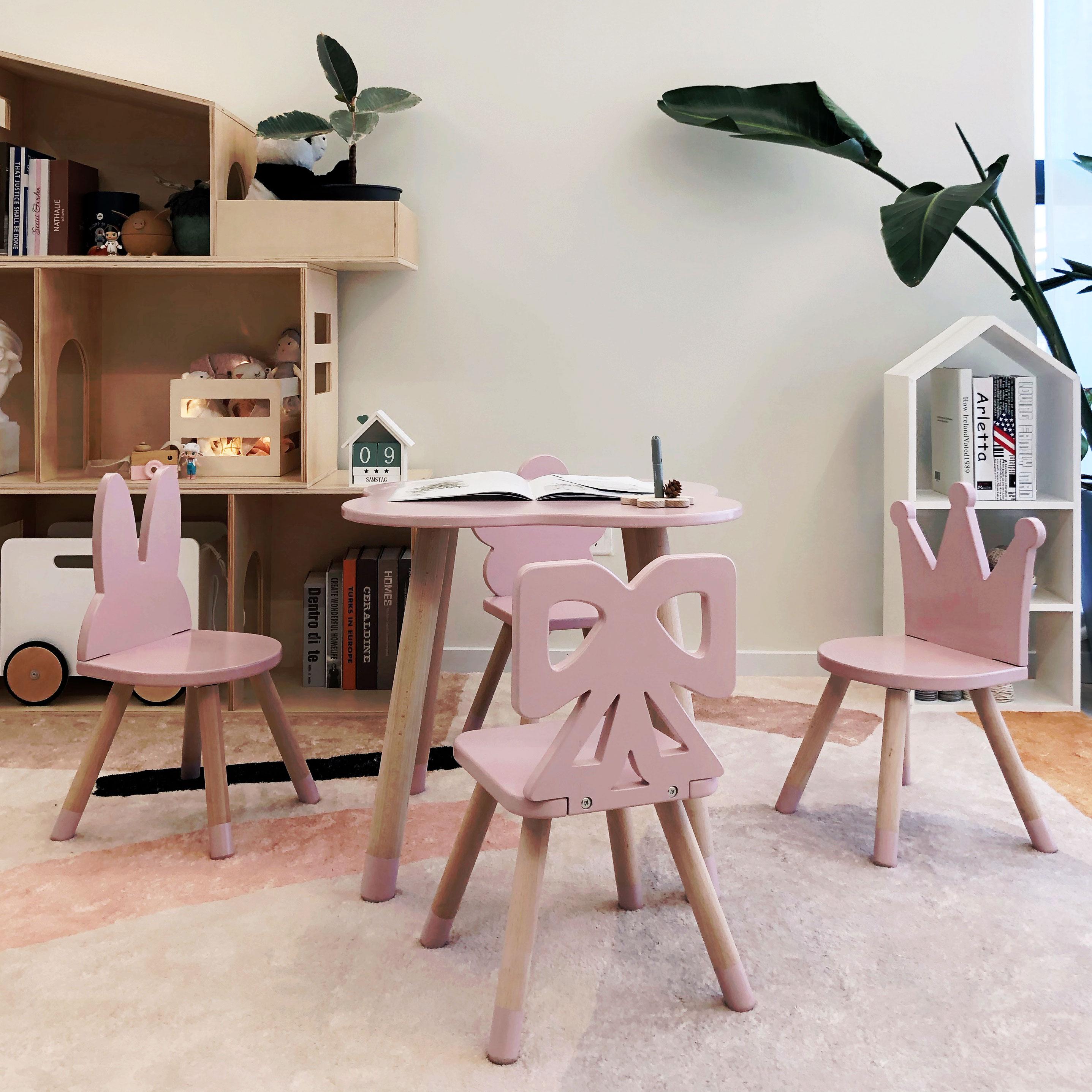 hc 1503) Antike Kinder Tisch Und Stühlekindergarten,Tag