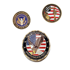 Logo Shopping Referee India Rare Personal Us Old Nepali Round Shaped Cutout Metal Mandela 3d Custom Soft Enamel Made Led Coin