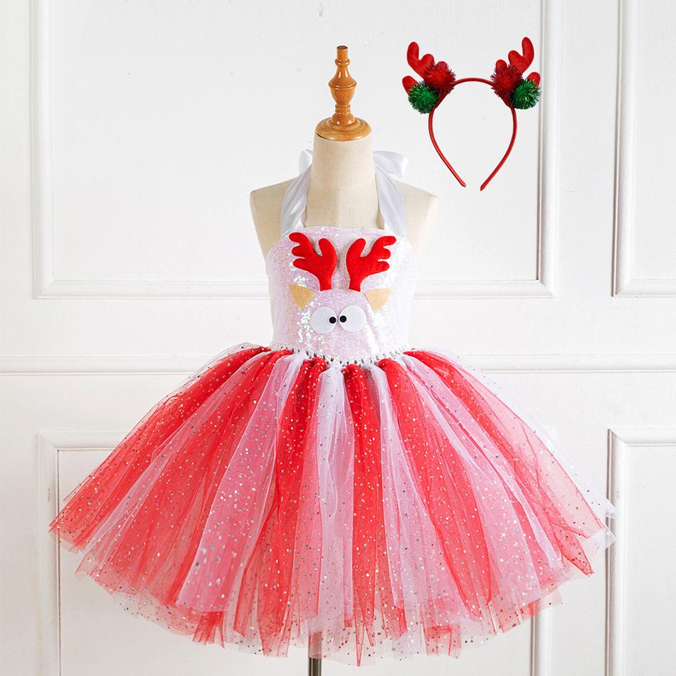 weihnachten hübsche pailletten kleid in china online