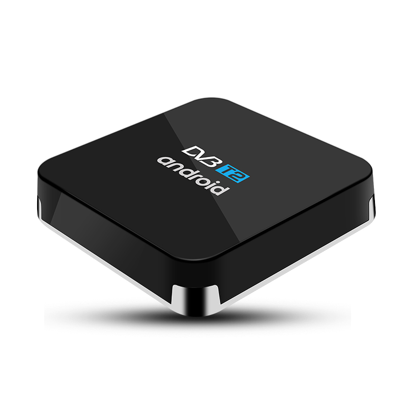 Amlogic S905D dvb t2 / s2 / ATSC / ISDB-T combo hybrid tv box 4K Android 7.1 Media <strong>Player</strong>