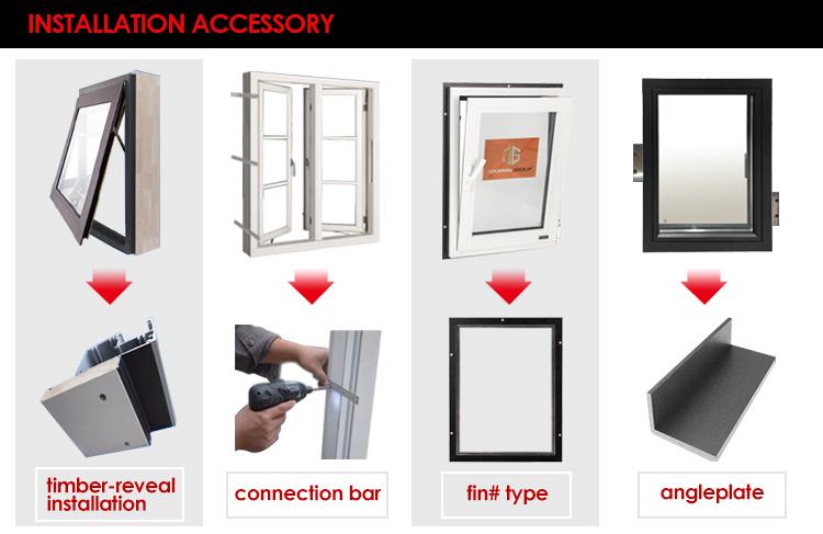 Doorwin usine directe nouvelle construction fenêtres en vinyle prix bas e