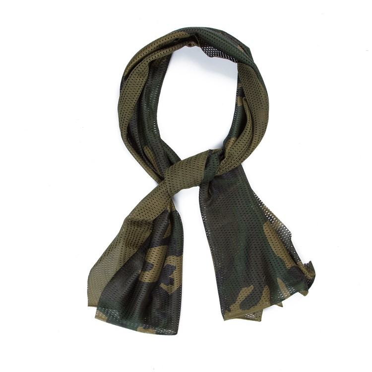 Cheap Custom Men's Military Tactical Scarf Digital Printed Sport Outdoor Scarves
