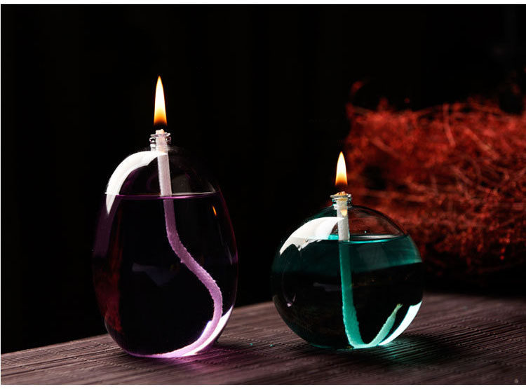 High Borosilicate Glass Oil Lamp