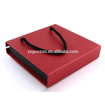 High-grade square gift box High capacity christmas gift box Promotional suitcase gift box magnetic cardboard