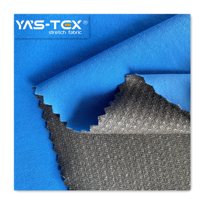 2020 Nylon Stretch 4 Cách Spandex Ngoại Quan Tricot Với TPU Ngoài Trời Xé Kháng Vải Không Thấm Nước Cho Áo Khoác