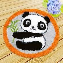 Stramin для вышивания ковров, Diy коврики Foamiran для рукоделия, игла для вышивания ковров, вышивка на пуговицах, посылка, крючок с защелкой(Китай)