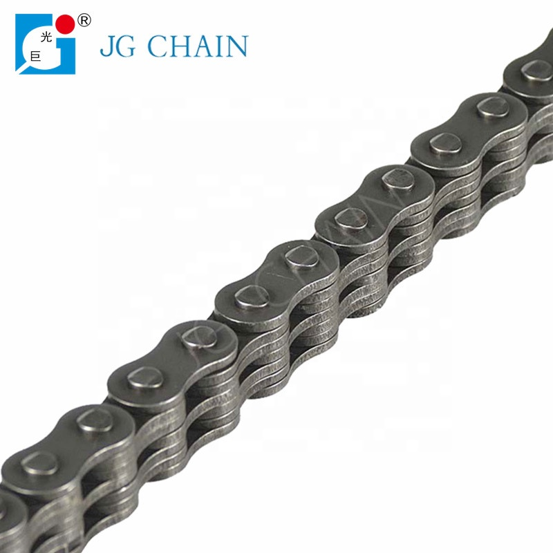 Factory direct sales LH1234 zhuji manufacturer heat resist steel dragging fork lifts leaf chain bl634 chain