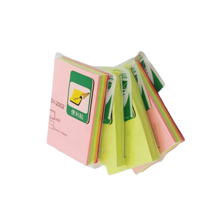 Mini nette 51*76MM Gelb Sticky Note Individuell Bedruckte Memo Pad