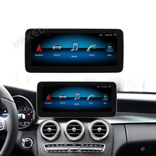 MEKEDE <span class=keywords><strong>SIM</strong></span> 4G android 9,0 8core con 4 + 64GB Android reproductor de dvd de coche para Benz GLC w253 2015-2019 NTG5.0 BT WIFI GPS Video Radio