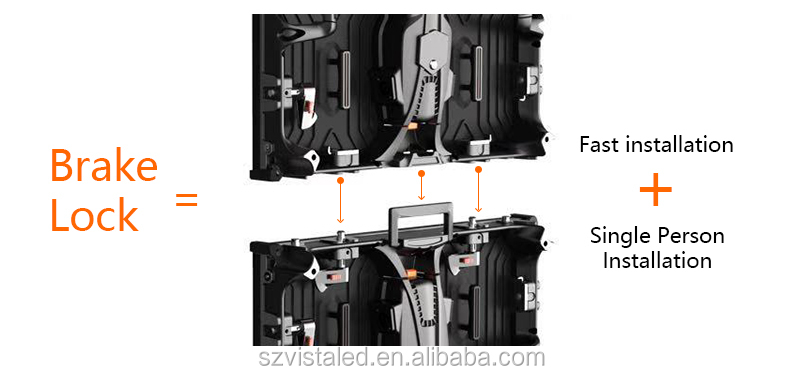 Nationstar rental curve led display P 2.9 P2.8 P2.5 outdoor mobile led full color light led screen