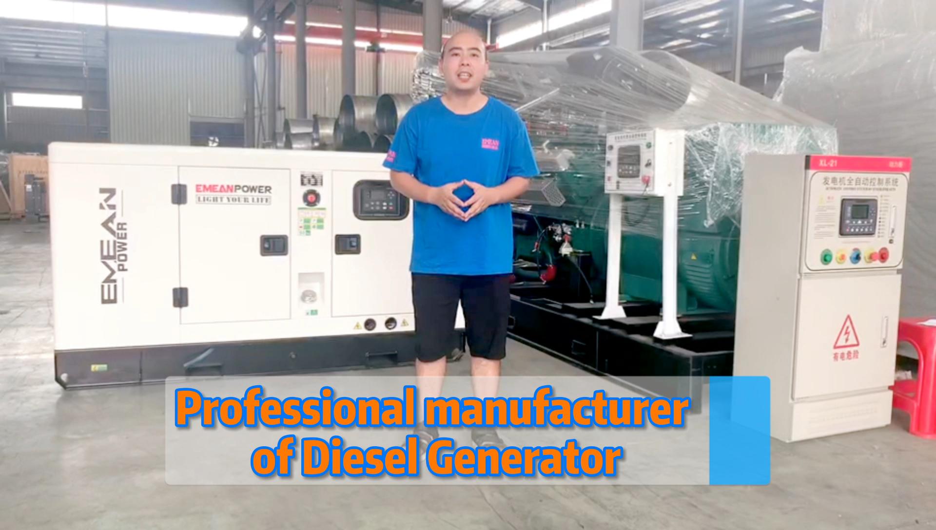 30kw/37.5kva raffreddato ad acqua silenzioso tipo di generatore diesel uso domestico del gruppo elettrogeno