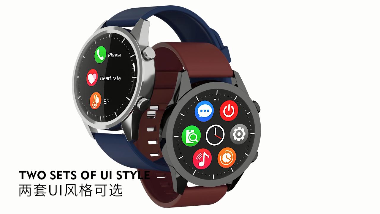 F35 smartwatch Bluetooth call Sporty smart watch wearfit phone watch  Heart Rate bracelet Dial Fitness Tracker